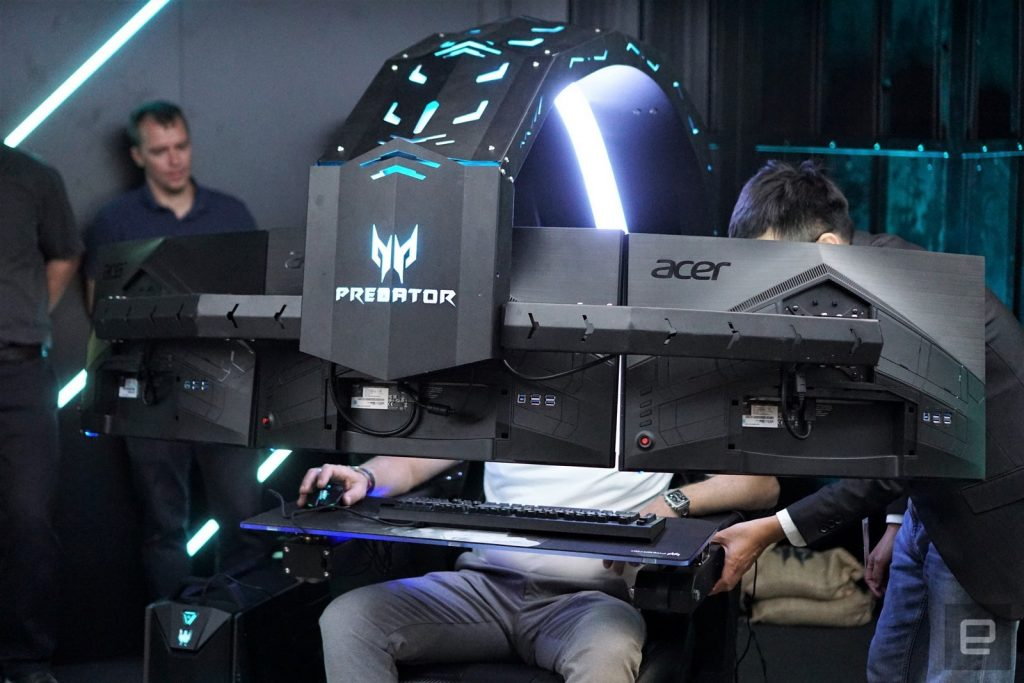 Acer Predator Thronos has been announced.