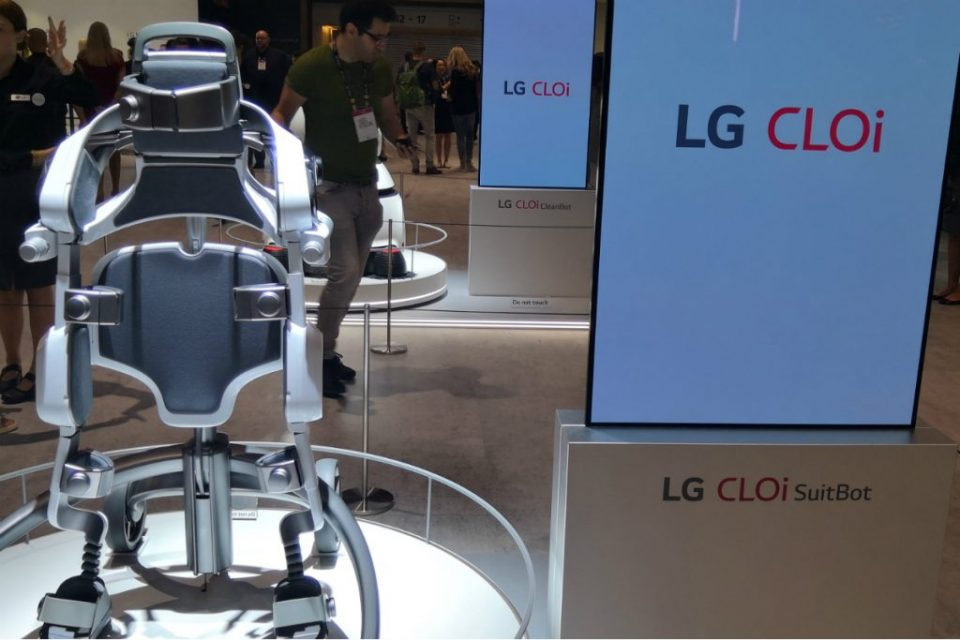 LG launches SuitBot.