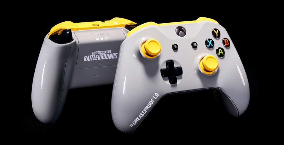 Xbox PUBG grease-proof controller