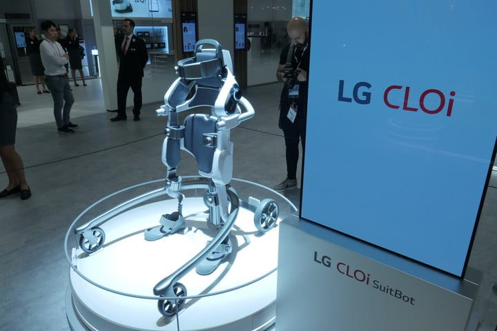The Cloi SuitBot was introduced at IFA 2018.