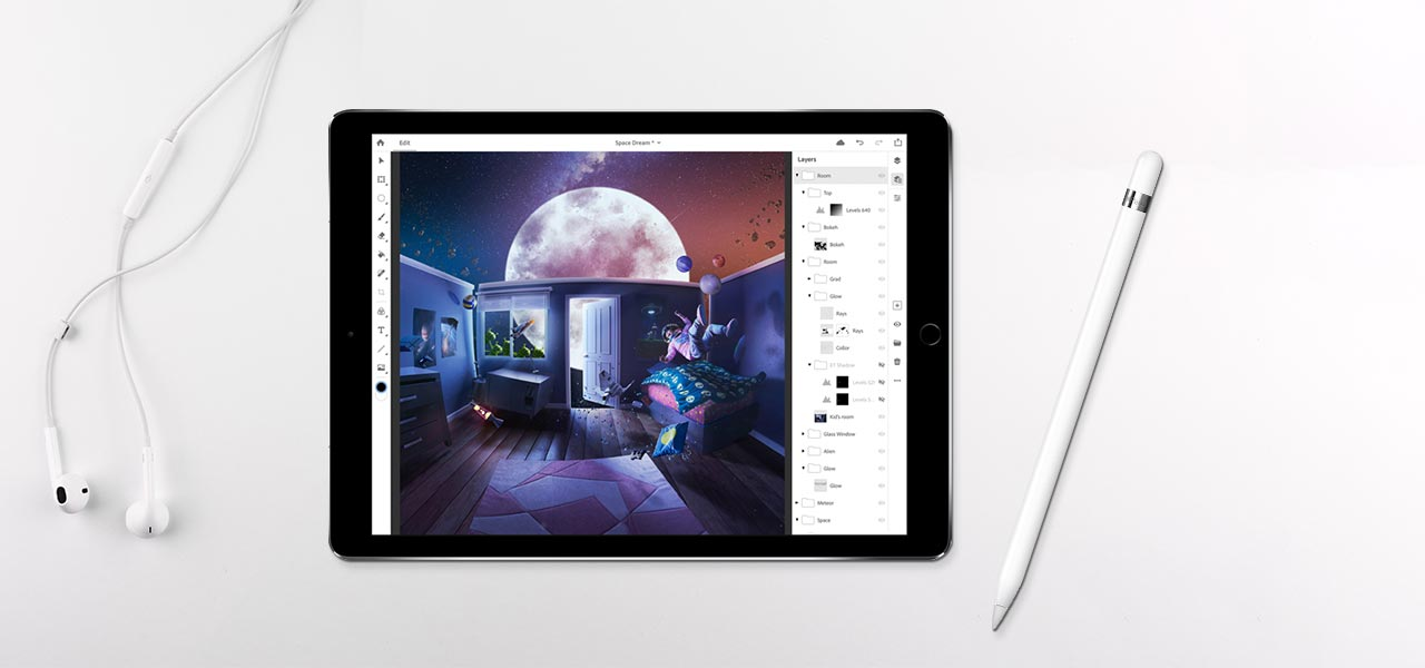 adobe photoshop is coming to apples ipad in mobile app push this year