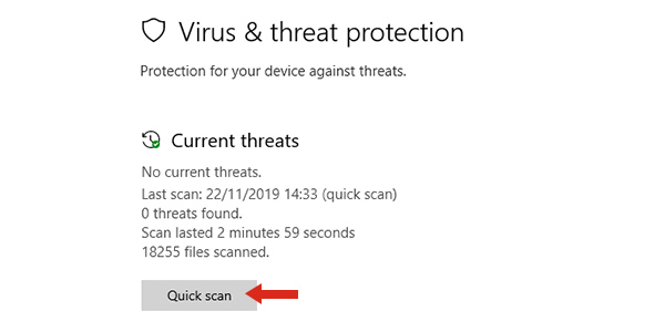 make pc faster scan for malware