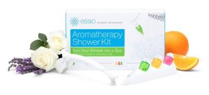 essential oils in shower