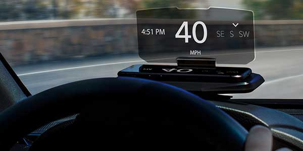 vizr heads up display