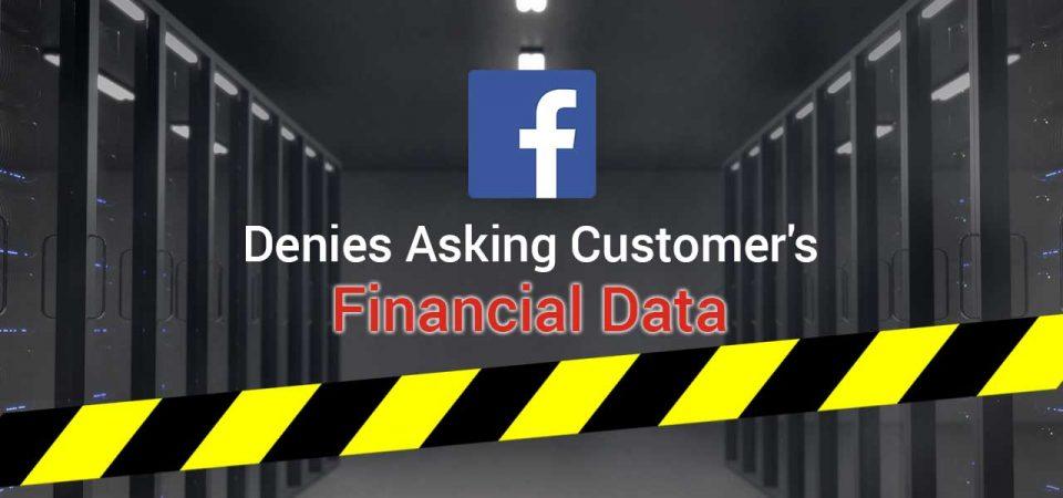 facebook denies