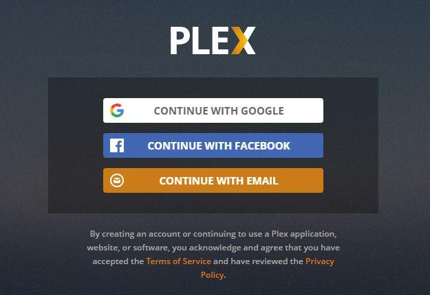 plex registration
