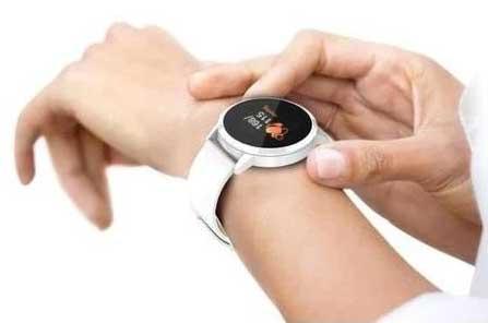 wearing health watch