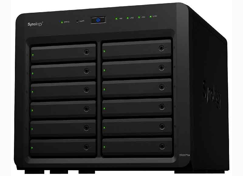 nas synology virtual machines