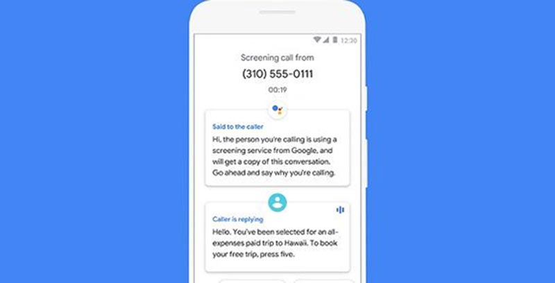 call screen feature android