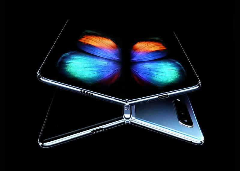 galaxy foldable phone