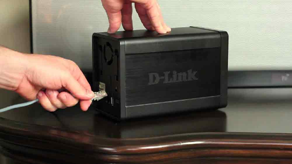 d-link nas drive