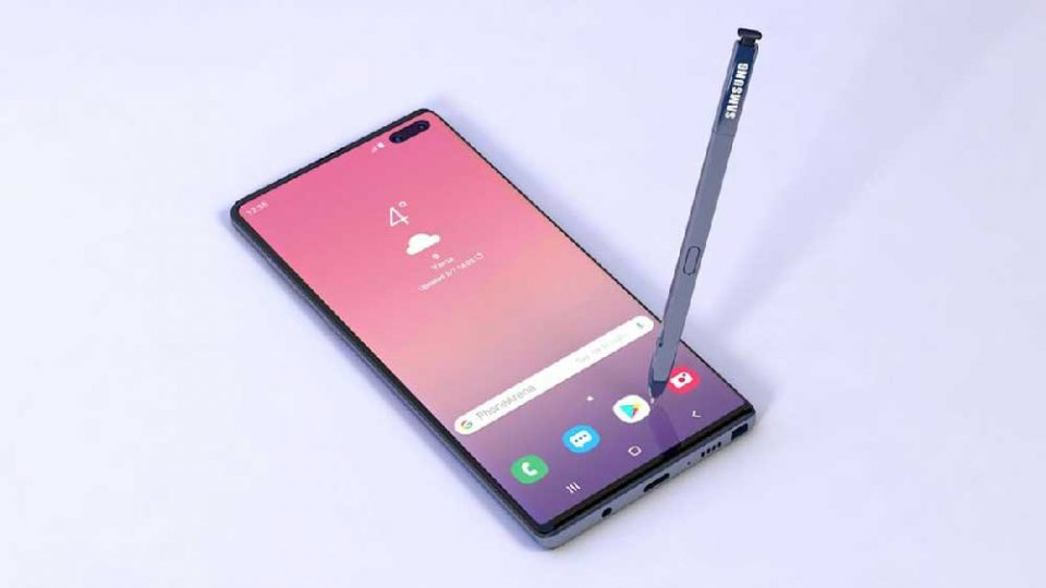 galaxy note 10 release