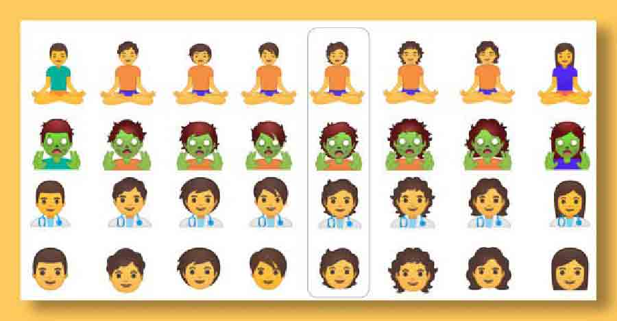 google emoji list