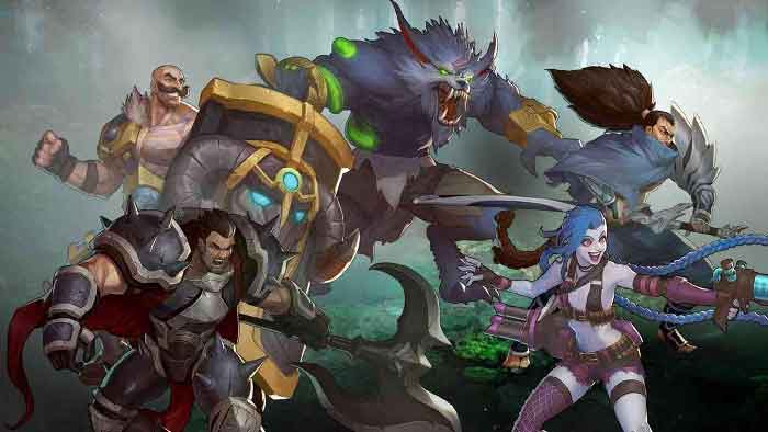 league of legends mobile game online