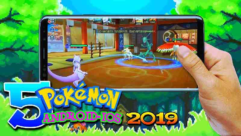 pokemon games for iphone