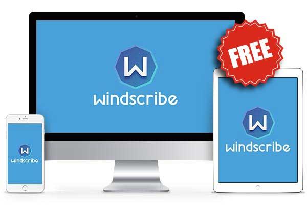 windscribe free vpn app