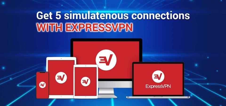 expressvpn 5 multi-login