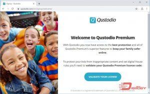 qustodio app validate license