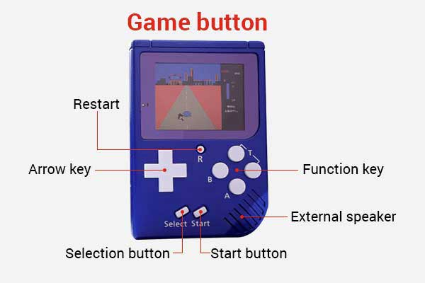 gameboy retro mini game console