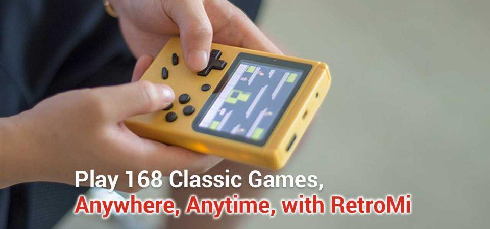 retromi game boy retro console