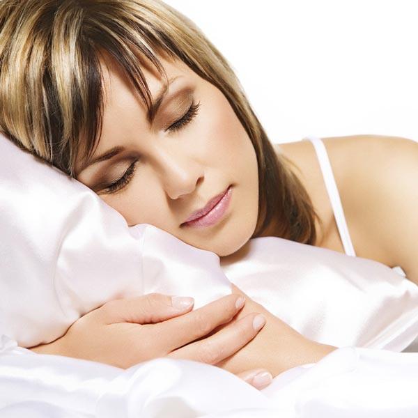 sleep on silk