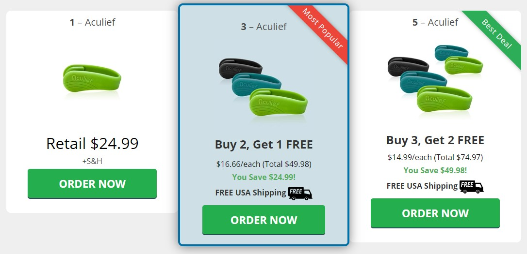 aculief price