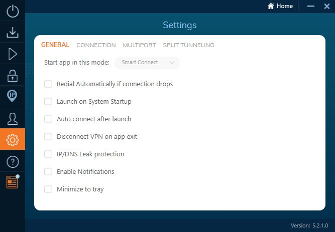 ivacy settings