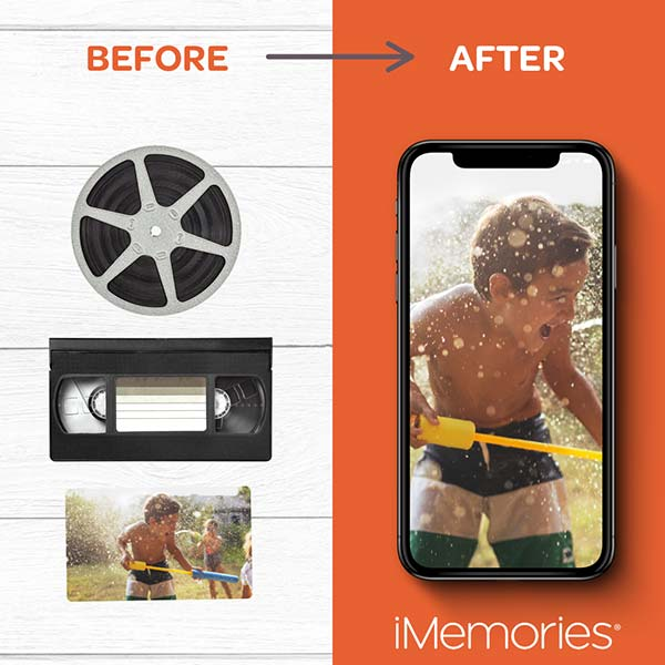 iMemories preserve your photos