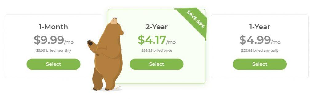 TunnelBear Price 2020