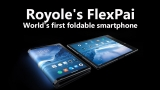 The world's first ever foldable smartphone introduced by Royole