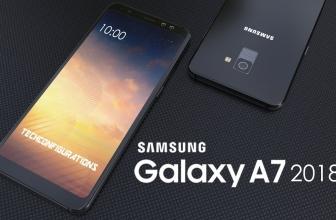 Samsung's triple-camera Galaxy A7 (2018)