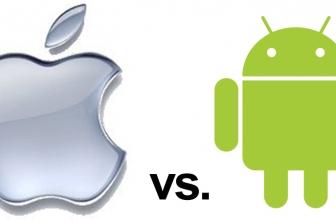 Rivalry between iPhones Vs Androids