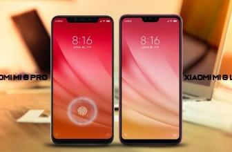 The Comparison between the Xiaomi Mi 8 Pro vs Mi 8 Lite
