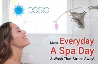 Relax With the Essio Essential Oil Shower Diffuser