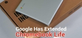Google Chromebook Life Extension