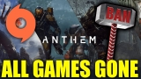 EA Shocks Anthem Player after Empty Origin Library